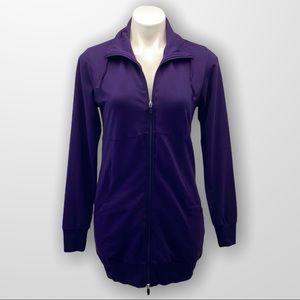 DIADORA Zip Up Fleece Jacket Size Small